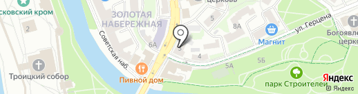 Pozitiv-studio на карте Пскова