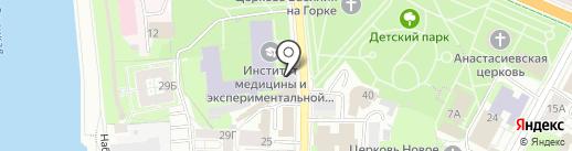 Центр духовно-нравственного развития во имя святителя Тихона Патриарха Московского на карте Пскова