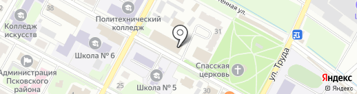 Компания по разработке проектов по экологии на карте Пскова