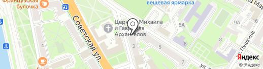 Медицинский кабинет на карте Пскова