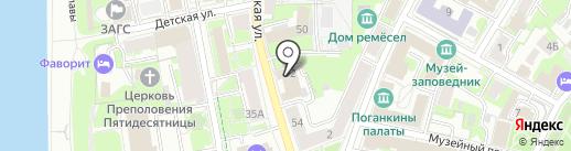 Профит на карте Пскова