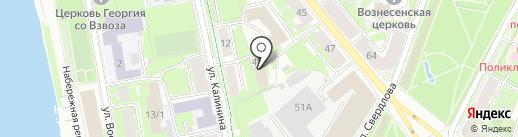 Росинком на карте Пскова