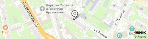 Добрый Псков на карте Пскова