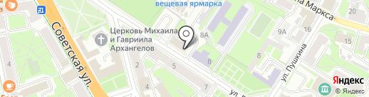 ПРО СПОРТ на карте Пскова