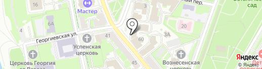 ARTE на карте Пскова