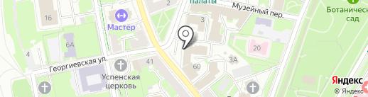 Платежный терминал, Тройка-д банк на карте Пскова