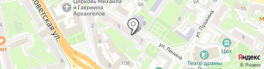 Центр устойчивого развития Псковской области на карте Пскова