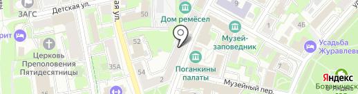 ПодарокЪ на карте Пскова