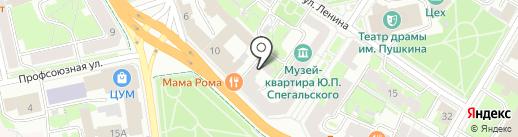 ЗАГС Псковского района на карте Пскова