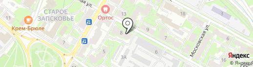 Современные Технологии Автоматизации на карте Пскова