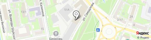 Ситроен Центр на карте Пскова