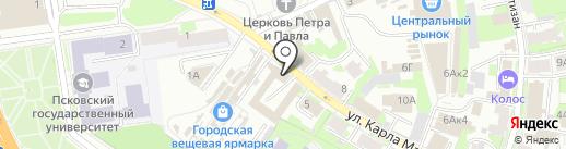 Электробензоинструмент на карте Пскова