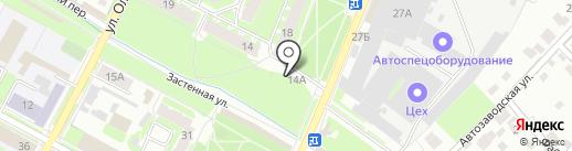 Пышки на карте Пскова