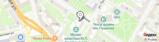 ТортДекор на карте Пскова