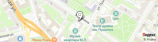 Ювелирная мастерская на карте Пскова