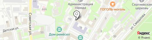 Хлебная слобода на карте Пскова