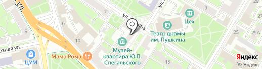 Ирис & К на карте Пскова