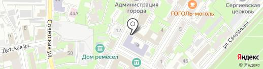 Спецпроектреставрация на карте Пскова