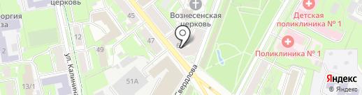 DIAMOND на карте Пскова