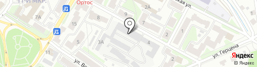 Предприятие слепых Нива на карте Пскова