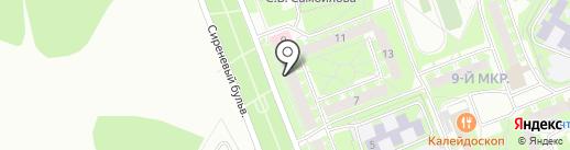 Стоматологическая городская поликлиника на карте Пскова