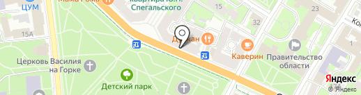 Studio 29 на карте Пскова