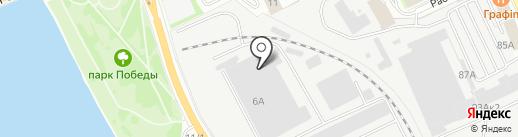 Компания по утилизации отходов на карте Пскова