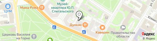 Багетная и художественная мастерская Мизгирёва Василия на карте Пскова