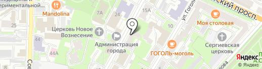 Ева на карте Пскова