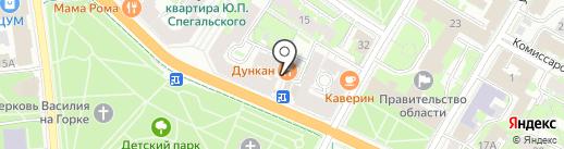Josper Bar & Grill на карте Пскова