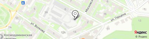 АСКО на карте Пскова