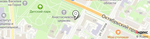 Единая дежурно-диспетчерская служба на карте Пскова