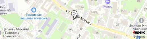 Milk and Cookies на карте Пскова