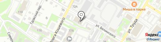 Студия подбора автоэмалей на карте Пскова