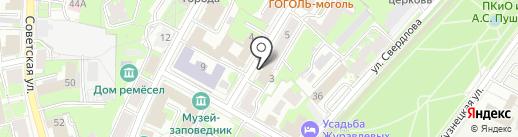 Love-радио, FM 105.8 на карте Пскова