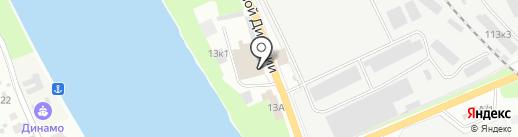 Мир инструмента на карте Пскова