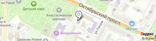 Банкомат, Банк ВТБ 24 на карте Пскова