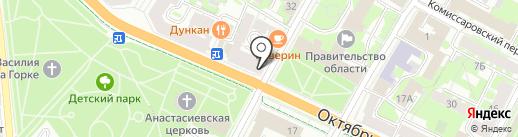 Nelva на карте Пскова