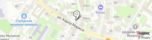 Дизайн-студия Алексея Красильникова на карте Пскова