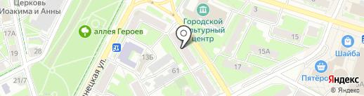 AUTOSHOP на карте Пскова
