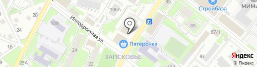 Hyundai на карте Пскова