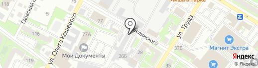 Юридическая фирма на карте Пскова