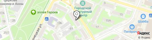 Эко-Сити на карте Пскова