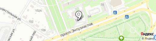 Красавчик на карте Пскова