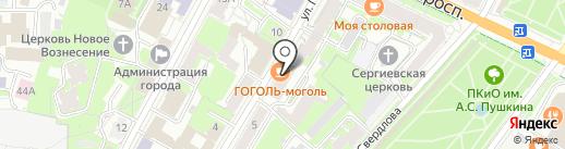 Банкомат, ББР Банк на карте Пскова