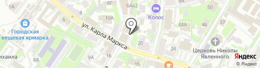 Уютный дом на карте Пскова