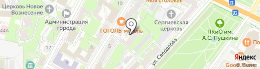 Праздник всегда с тобой на карте Пскова