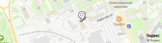 Геодезическая компания на карте Пскова