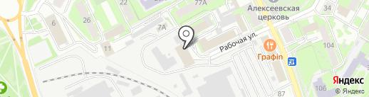 Империя кофе на карте Пскова
