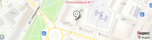 Межрайонная инспекция Федеральной налоговой службы России №1 по Псковской области на карте Пскова